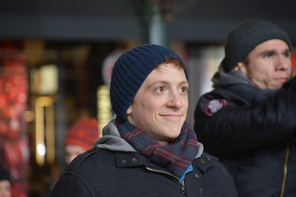 Photo Coverage: Broadway Heads to Herald Square to Rehearse for the MACY'S Thanksgiving Day Parade!