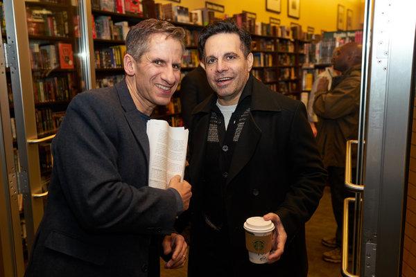Seth Rudetsky and Mario Cantone