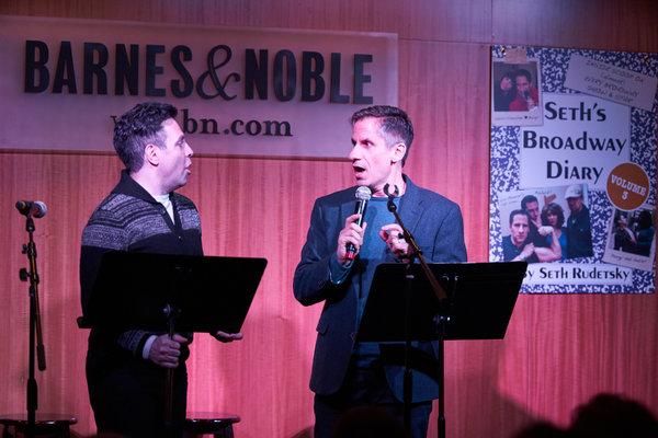 Mario Cantone and Seth Rudetsky