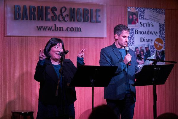 Ann Harada and Seth Rudetsky