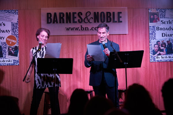 Photo Flash: Charles Busch, Mario Cantone, Ann Harada & Judy Kuhn Celebrate SETH RUDETSKY's BROADWAY DIARY, VOL. 3 at Barnes & Noble