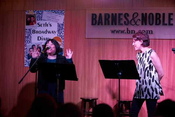 Ann Harada and Judy Kuhn