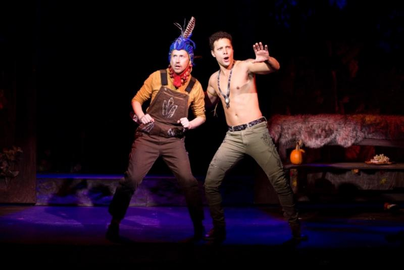 Justin Guarini Steps in for Injured Leading Man in THE NEW WORLD at Bucks County Playhouse