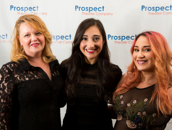 Leah Hocking, Krystina Alabado, and Emma Hunton celebrate the Opening Night of THE MAD ONES at Sarabeth's on Central Park South. Photo: Jeffrey Lee / On the Spot Image