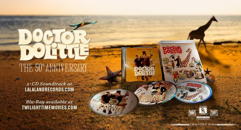 Leslie Bricusse Set for 50th Anniversary DOCTOR DOLITTLE Event in London