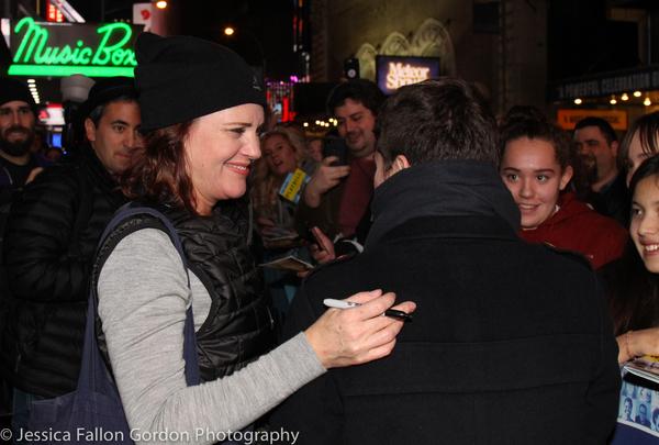 Jennifer Laura Thompson and fans