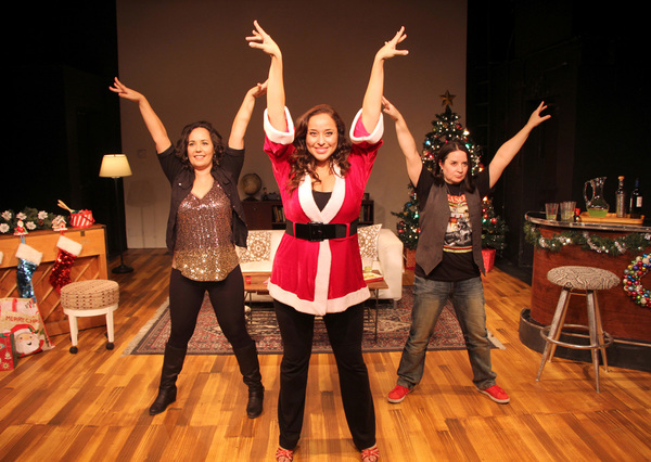 Diana Yanez, Maria Russell and Sandra Valls
