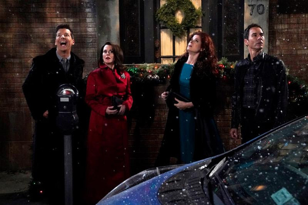 Photo Flash: WILL & GRACE Christmas Special Time Travels to Explore Homosexuality in 1912