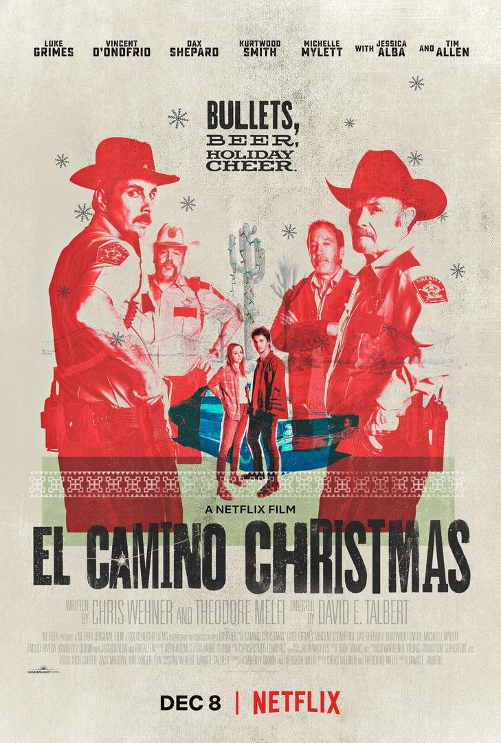 VIDEO: Netflix Shares Trailer for EL CAMINO CHRISTMAS, Launching 12/8