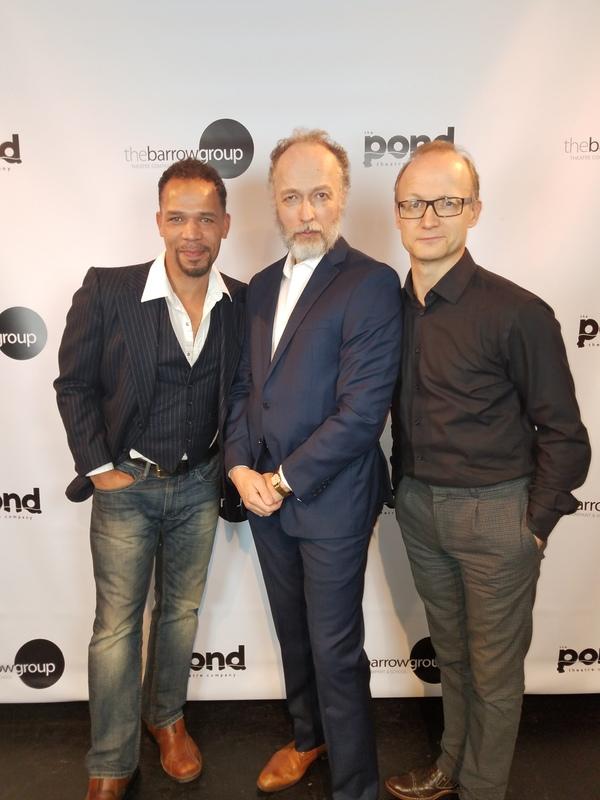 Jason Alan Carvell, John Pirkis, Richard Hollis