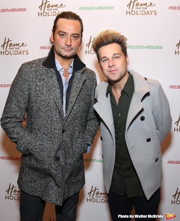Constantine Maroulis and Ryan Cabrera