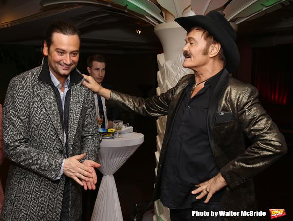 Constantine Maroulis and Randy Jones Photo