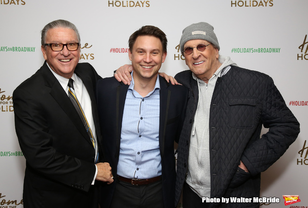 Michael J. Guccione, Jonathan Tessero and Danny Aiello