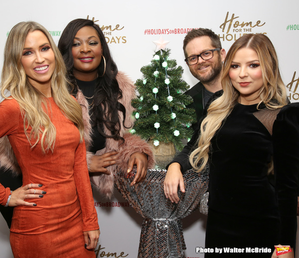 Kaitlyn Bristowe, Candice Glover, Josh Kaufman and Bianca Ryan Photo
