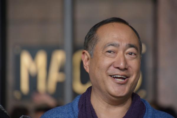 Alan Muraoka from Sesame Street