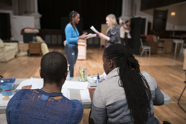 Playwright Aziza Barnes and director Nataki Garrett