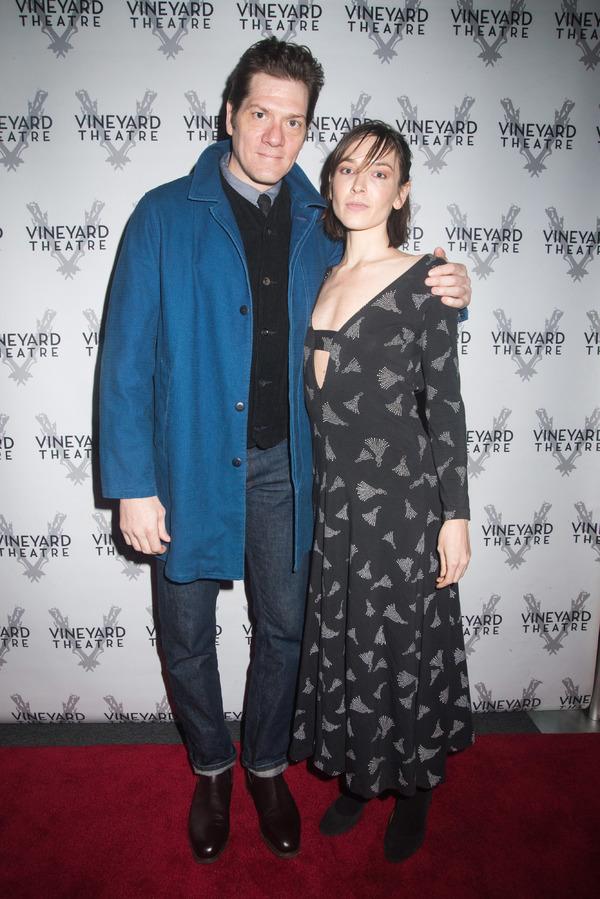 Adam Rapp and Hallie Newton