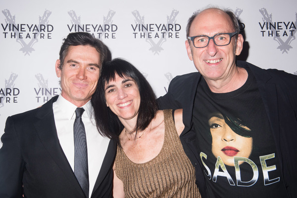 Billy Crudup, Leigh Silverman and David Cale
