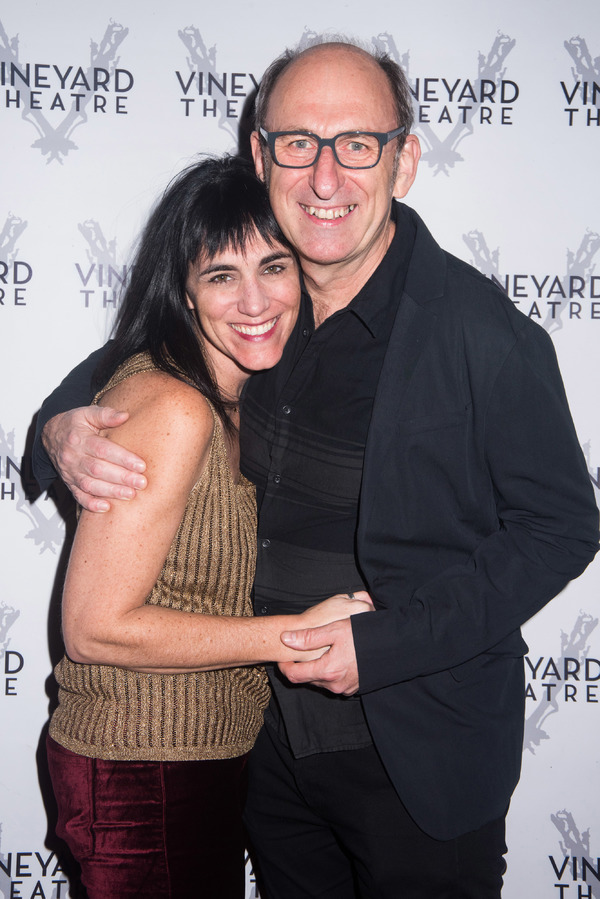 Leigh Silverman and David Cale
