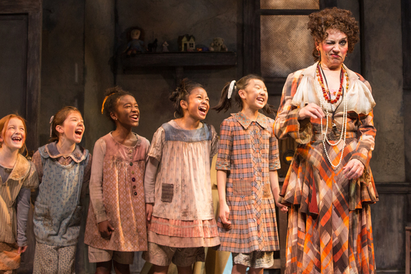 Photo Flash: Beth Leavel, Christopher Sieber, Erin Mackey, Get A New Deal For Christmas in Paper Mill's ANNIE