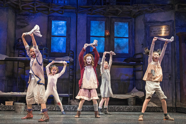 Michelle Henderson (Duffy), Tessa Noelle Frascogna (Molly), Cassidy Pry (Annie), Eve Johnson (Tessie)and Lauren Sun (July)
