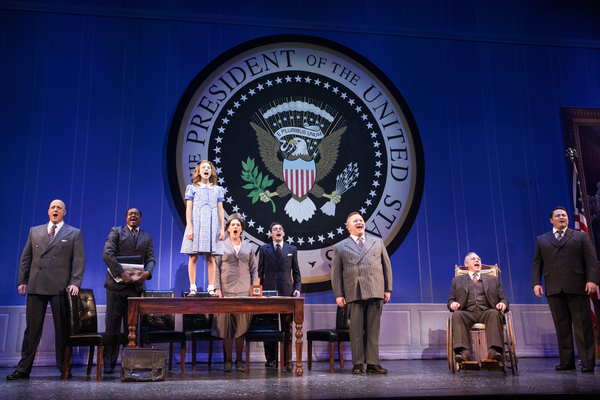 Photos: Beth Leavel, Christopher Sieber, Erin Mackey, Get A New Deal For Christmas in Paper Mill's ANNIE