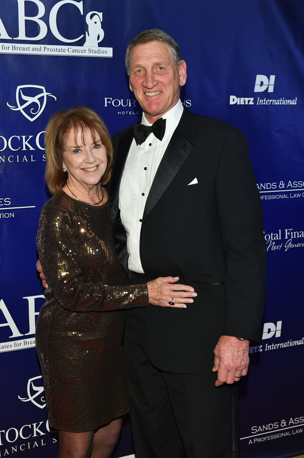 JoAnn and Robert Klein, President & CEO, Saint John's Health Center Foundation Photo