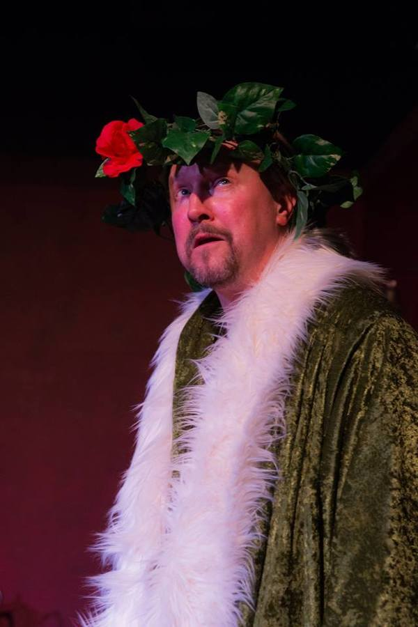 """GARY CHAMBERS (Ghost of Christmas Present)  from the Lakewood Playhouse Production of """"A CHRISTMAS CAROL"""""""
