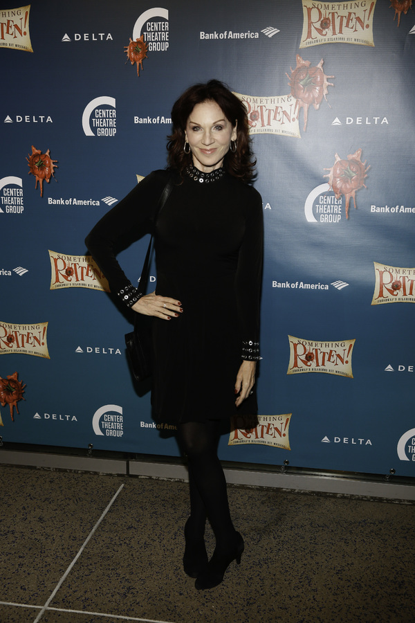 "Actor Marilu Henner arrives for the opening night performance of ""Something Rotten!"" at Center Theatre Group/Ahmanson Theatre on Tuesday, November 21, 2017, in Los Angeles, California. (Photo by Ryan Miller/Capture Imaging)"