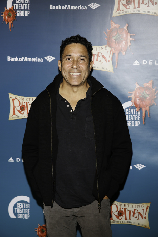 "Actor Oscar Nunez arrives for the opening night performance of ""Something Rotten!"" at Center Theatre Group/Ahmanson Theatre on Tuesday, November 21, 2017, in Los Angeles, California. (Photo by Ryan Miller/Capture Imaging)"