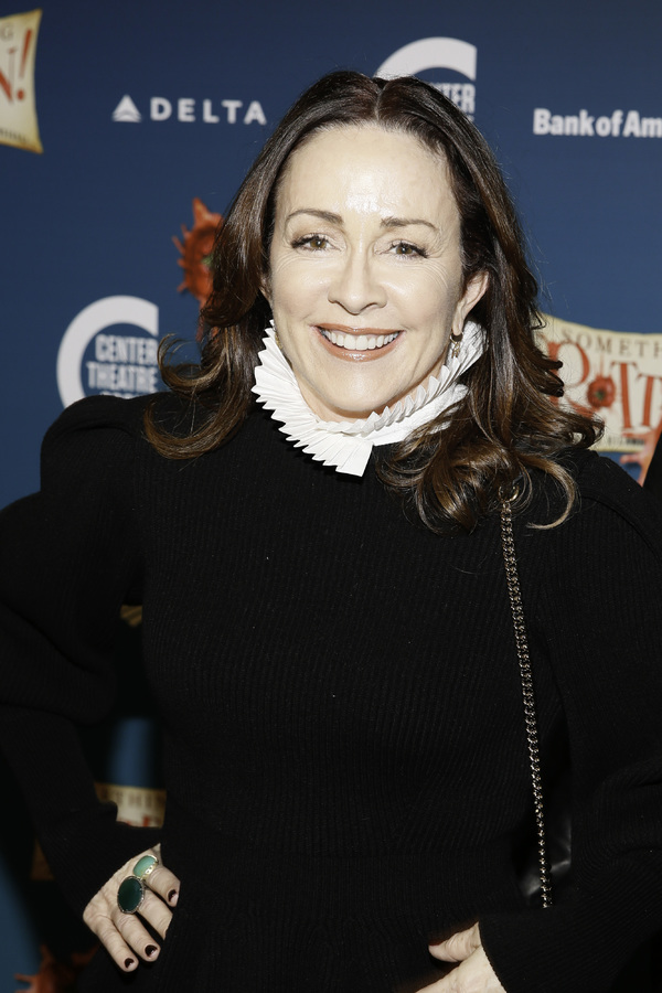 """Actor Patricia Heaton arrives for the opening night performance of """"Something Rotten!"""" at Center Theatre Group/Ahmanson Theatre on Tuesday, November 21, 2017, in Los Angeles, California. (Photo by Ryan Miller/Capture Imaging)"""