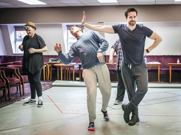 Photo Flash: Eyes Peeled! Inside Rehearsal for BANANAMAN THE MUSICAL at Southwark Playhouse