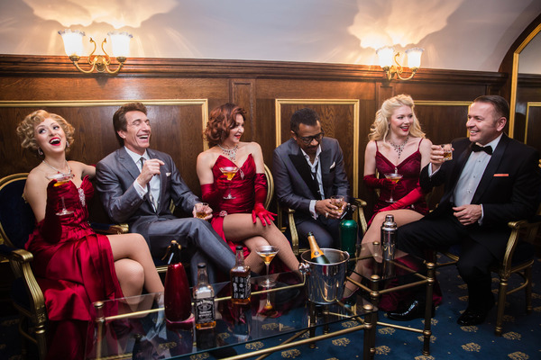 Photo Flash: The West End Cast of THE RAT PACK - LIVE FROM LAS VEGAS! Gets Into Character