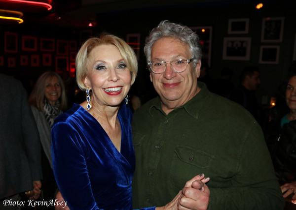 Julie Halston and Harvey Fierstein