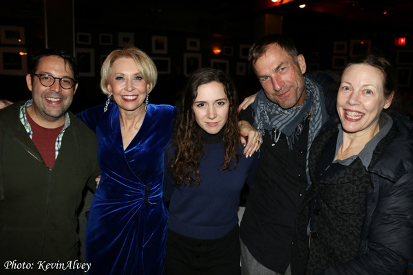 Steve Rosen, Julie Halston, Talene Monahon, David Woolard and Veanne Cox Photo
