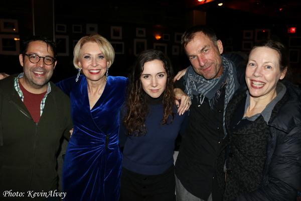 Steve Rosen, Julie Halston, Talene Monahon, David Woolard and Veanne Cox