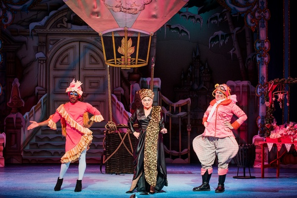 Photo Flash: First Look of CINDERELLA at Hackney Empire