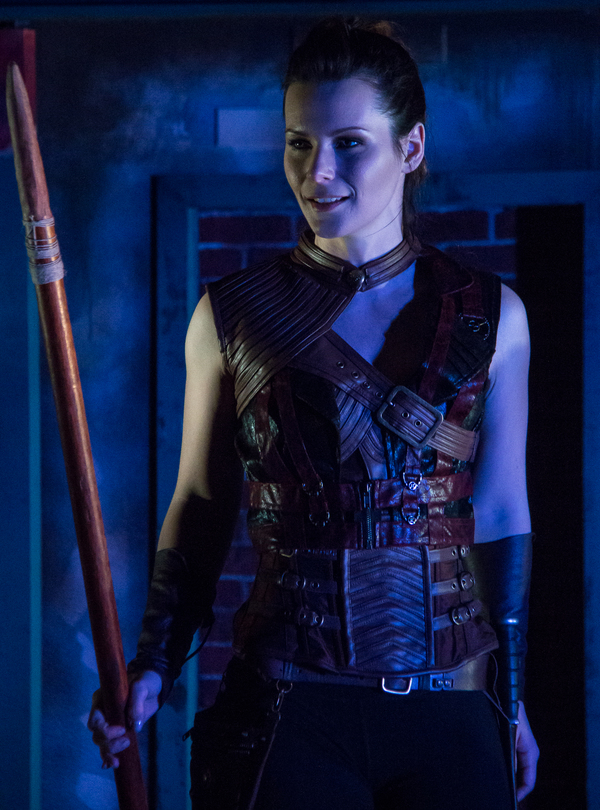 Know Theatre presents NEVERWHERE - Jordan Trovillion as Hunter - Photo by Dan R. Winters