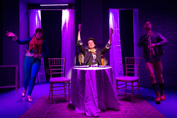 Photo Flash: The Pool Presents Three Shows in Rotating Rep