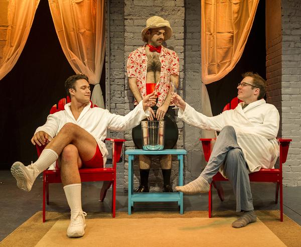 Juan Arturo (as Rafa), Tommy Heleringer (as Butler), Olli Haaskivi (as Peter Gil)