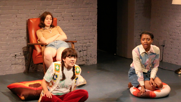 Madeline Wise (as Carol), Caitlin Morris (as Laura), Courtney G. Williams (as Stacy)