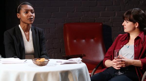 Courtney G. Williams (as Katelyn), Caitlin Morris (as Laura)