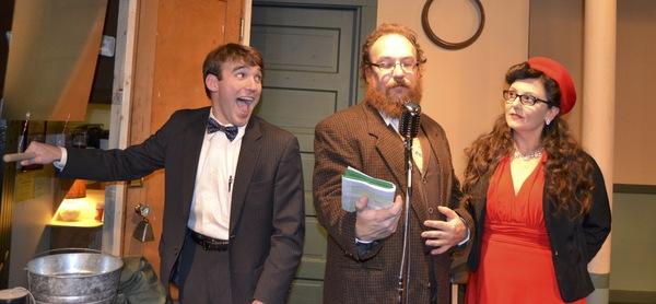 Photo Flash: Arctic Playhouse Presents CHRISTMAS CAROL: A RADIO PLAY