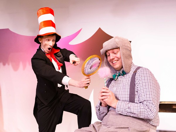 The Cat in the Hat (Christopher Sweet) & Horton the Elephant (Steve Barnett) Photo