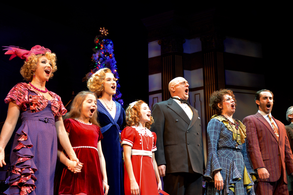 Photos: The Cast of ANNIE at Paper Mill Take Opening Night Bows