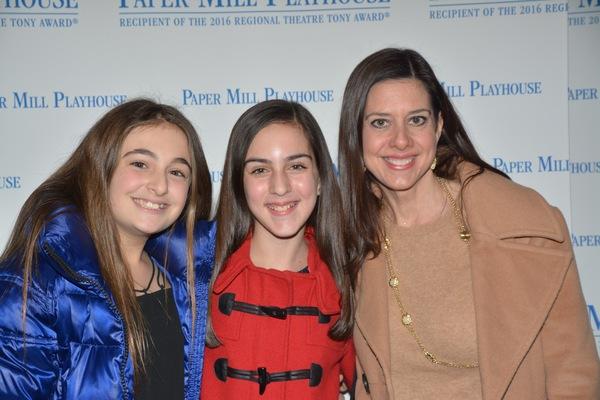 Danielle Krasney, Brooke Lelia and Michelle Lelia
