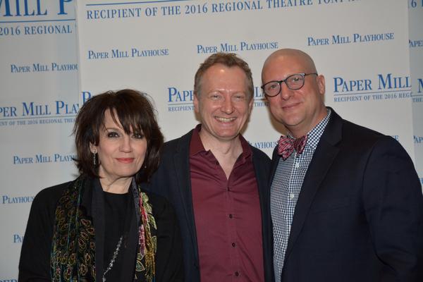 Beth Leavel, Bob Martin and Christopher Sieber
