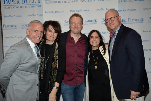 Mark S. Hoebee, Beth Leavel, Bob Martin, Dori Bernstein and Christopher Sieber