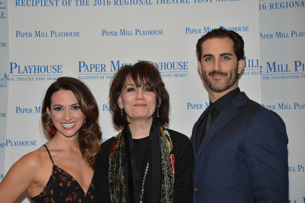 Kim Sava, Beth Leavel and Cooper Grodin