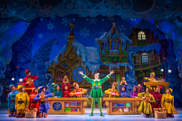 Photo Flash: First Look at Erik Gratton and More in ELF THE MUSICAL in Boston